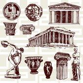 Starověké Řecko prvky