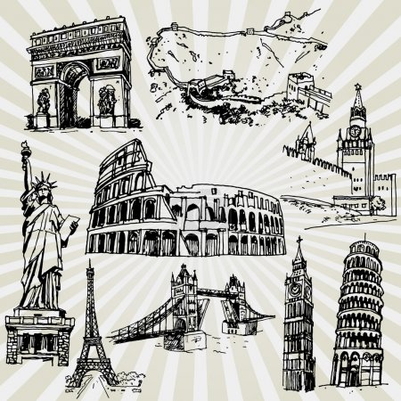 Sketches of Famous Places
