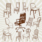 Chairs Hand Drawn