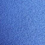 Blue door mat texture background....
