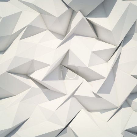 Photo for Abstract 3d origami background. - Royalty Free Image