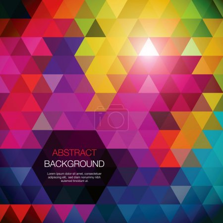 Illustration for Cool colorful background. - Royalty Free Image