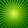 Ray background. Green color....