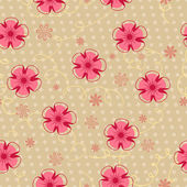 Romantic vintage seamless floral pattern