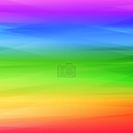 Illustration for Rainbow abstract background. Colorful vector illustration for your design - Royalty Free Image