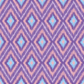 Seamless Fabric Pattern with Diamonds