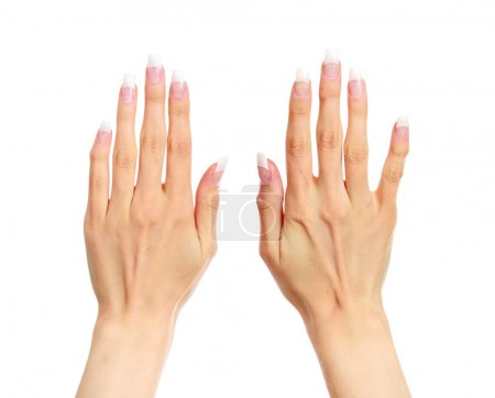 Well-cared-for female hands