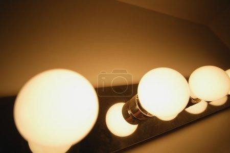 Photo pour Gros plan des lumières vives - image libre de droit