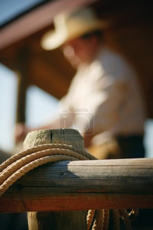 Rope On Fence