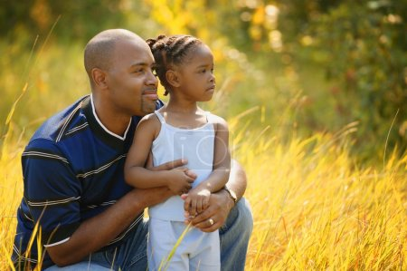 Father And Daughter Spend Time Together