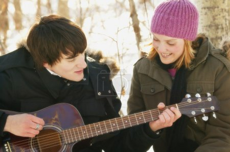 Serenading A Girl
