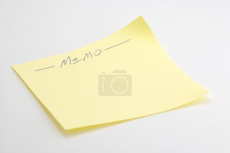 Photo for Post-It Note - Royalty Free Image