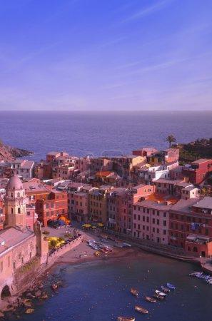 Vernazza Cinque Terre Region Italy