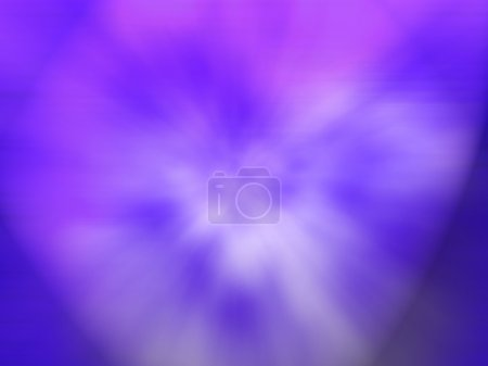Blue Purple Computer Generated Image
