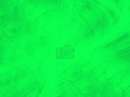 Green Computer Generated Graphic