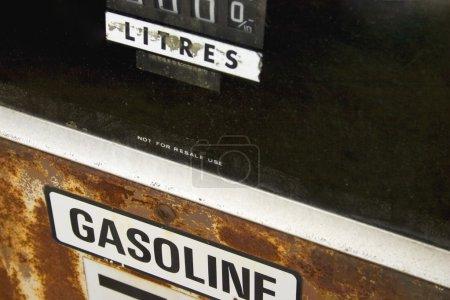 Old Gasoline Pump Display...