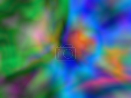 Computer Generated Colorful Image