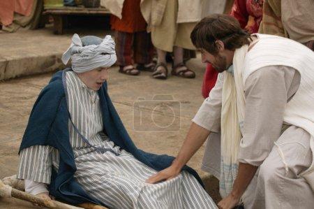 Jesus Heals A Crippled Child