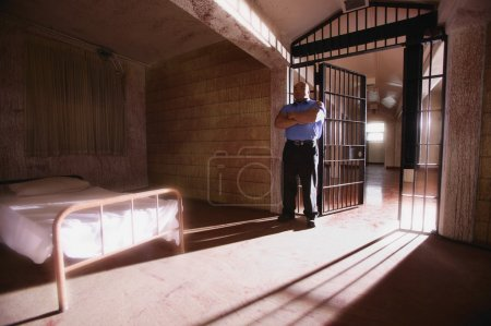 Prison Security Guard And Cell
