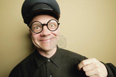 Photo pour Homme avec un sourire - image libre de droit