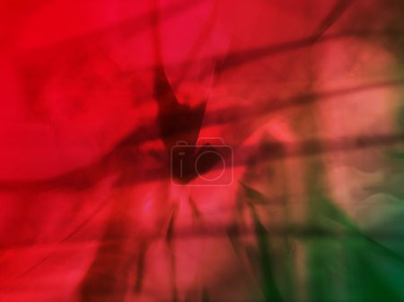 Photo pour Nuances De Conception Générée par Ordinateur Rouge - image libre de droit