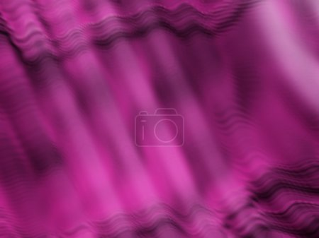 Purple Ripples And Folds On Computer Generated Graphic