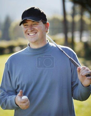 Portrait Of A Golfer