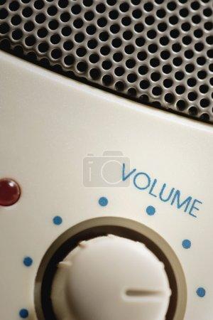 Photo pour Cadran de contrôle de volume - image libre de droit