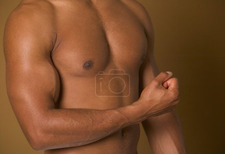 Photo for A Man's Chest - Royalty Free Image