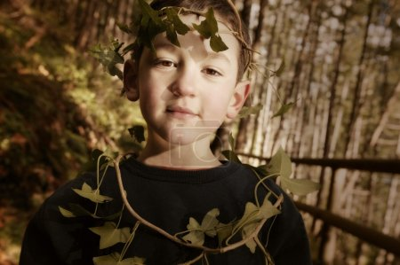 Child In A Wood