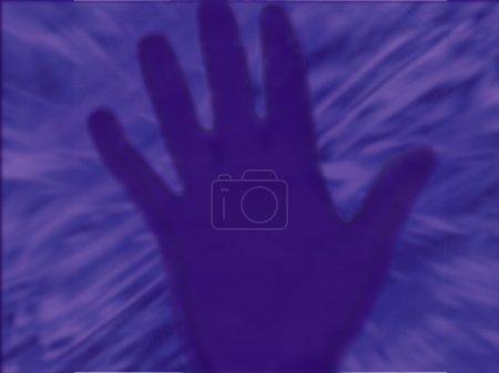 A Purple Hand