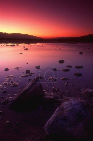 Amazing Sunset, California, Usa