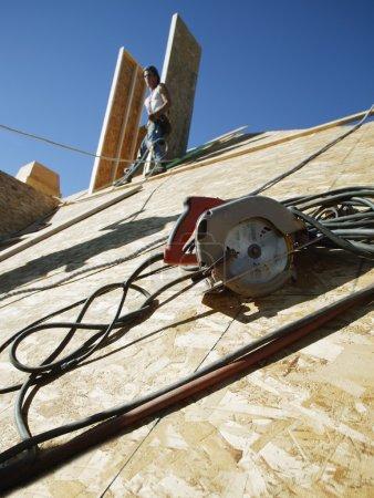 Photo pour Construction de maisons - image libre de droit