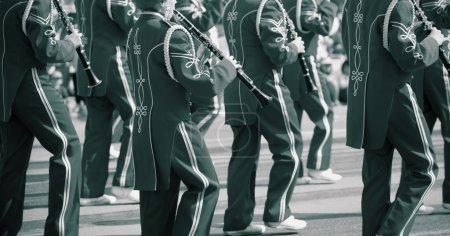 Photo for A Marching Band - Royalty Free Image