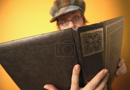 Woman Reads Bible