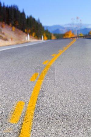 Kananaskis Highway In Alberta, Canada