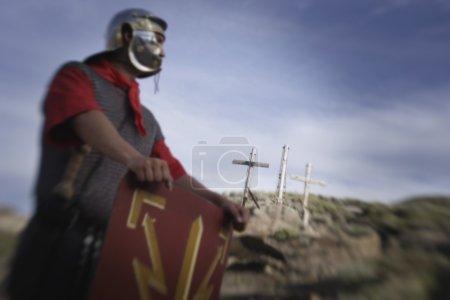 A Waiting Roman Guard