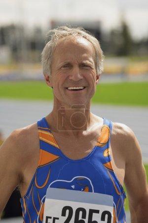 A Portrait Of A Senior Athlete