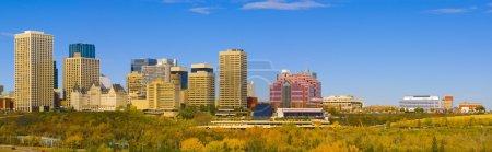 Photo pour Skyline d'Edmonton - image libre de droit