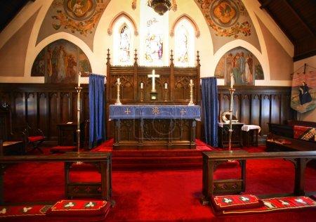 Altar In A Church