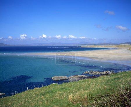 Photo pour Paysage marin irlandais et plage - image libre de droit