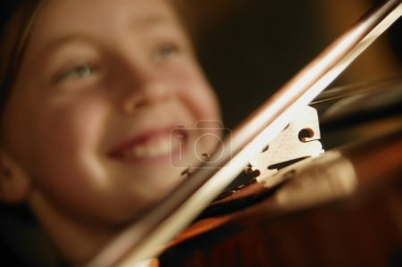 Photo for Child Playing Violin - Royalty Free Image