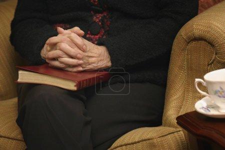 Senior Woman In Prayer