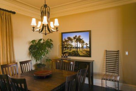 Photo pour Une salle à manger - image libre de droit