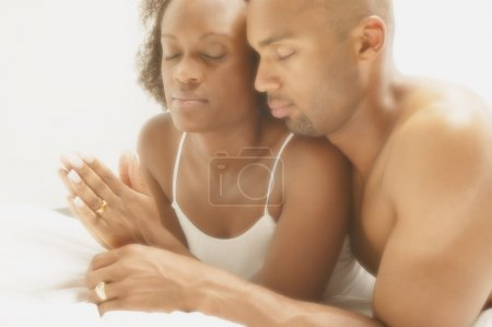 Couple Pray Together