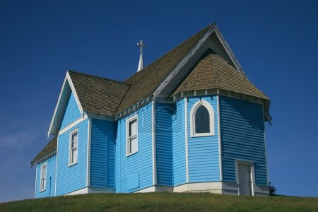 Blue Country Church, Big Valley, Alberta