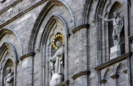 Photo for A Cathedral Wall - Royalty Free Image