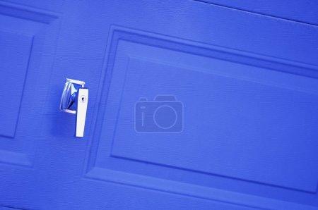 Closeup Of Door Handle
