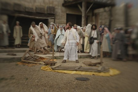 Jesus Overturns The Table