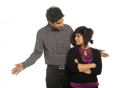 Couple Having A Disagreement